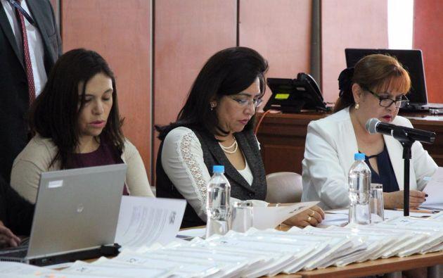 Palacios pidió al magistrado insistir en la extradición del procesado. Foto: Fiscalía