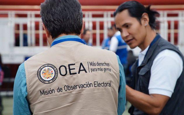 QUITO, Ecuador.- Esta es la vigésimoprimera elección que la OEA observa en Ecuador. Foto: CNE.