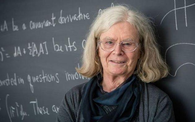 Nacida en Cleveland (EE.UU.) en 1942, Karen Uhlenbeck se graduó en la Universidad de Michigan y se doctoró en la de Brandeis. Foto: AFP.