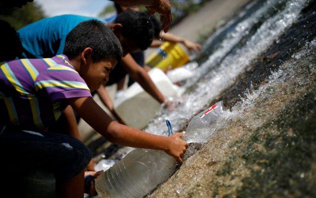 Un estudio de Cáritas estableció que un 57% de 4.103 menores de 5 años evaluados tenía algún tipo de desnutrición y 7,3% desnutrición severa. Foto: Reuters.