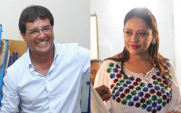 Carlos Luis Morales por el Guayas; Paola Pabón por Pichincha. Foto: Collage Vistazo
