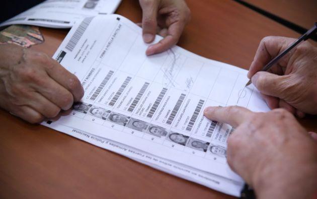 Según Atamaint, la jornada no se debe empañar por los intentos de boicot del conteo de los votos. Foto: CNE