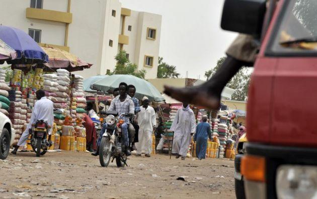 El Chad es un país de África Central que sufre una de las peores represiones informáticas del mundo. Foto: AFP.