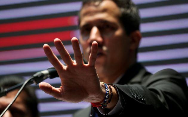 El contralor venezolano dijo que Guaidó realizó desde 2015 más de 90 viajes al exterior con un coste superior a los 310 millones de bolívares. Foto: Reuters.