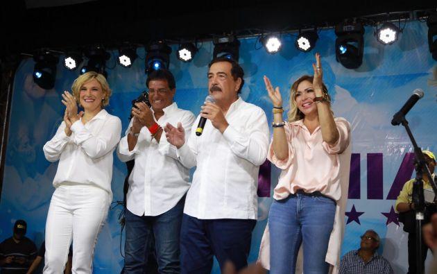 Con su victoria, Viteri completará la tercera década de administración del mismo partido en el Puerto Principal. Foto: Twitter @LA6MDG