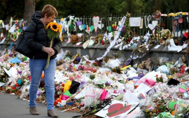 Los ataques de Christchurch, perpetrados el 15 de marzo por un supremacista blanco que disparó a los devotos en dos mezquitas, dejaron 50 muertos. AFP