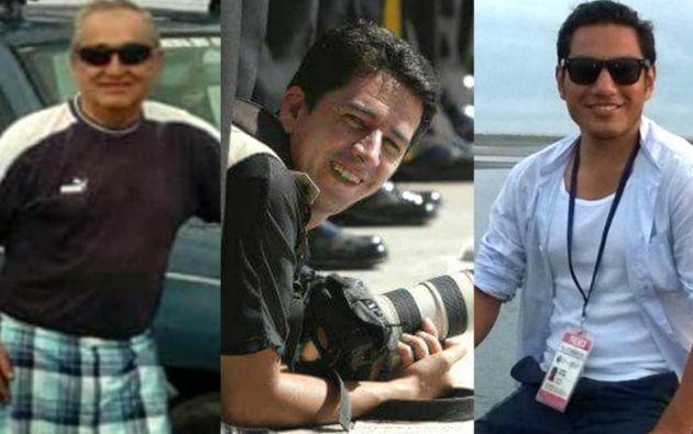 Efraín Segarra, Paúl Rivas y Javier Ortega fueron asesinados por disidentes de las FARC.