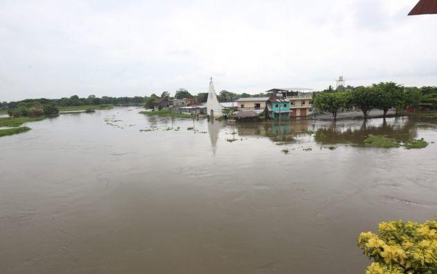 Las provincias de Manabí y Los Ríos concentran a la mayoría de personas afectadas. Foto: Servicio Nacional de Gestión de Riesgos.