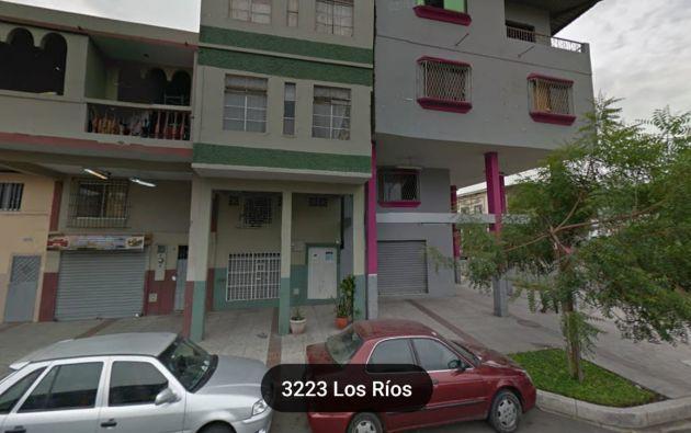 Así era la casa en 2015, según imagen captada por Google Maps.