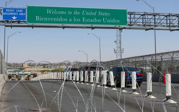 Estados Unidos anunció para la próxima semana el cierre de la frontera con México. Foto: AFP.