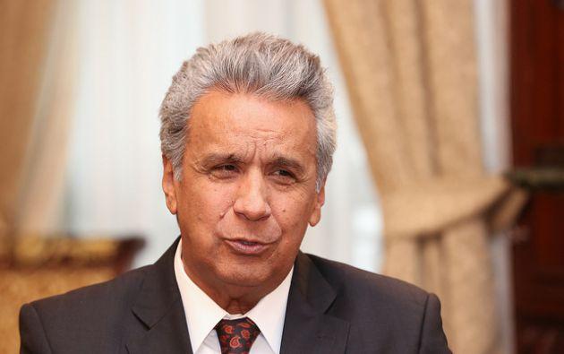 Un legislador correísta presentó una denuncia ante la Fiscalía en contra del presidente Lenín Moreno.