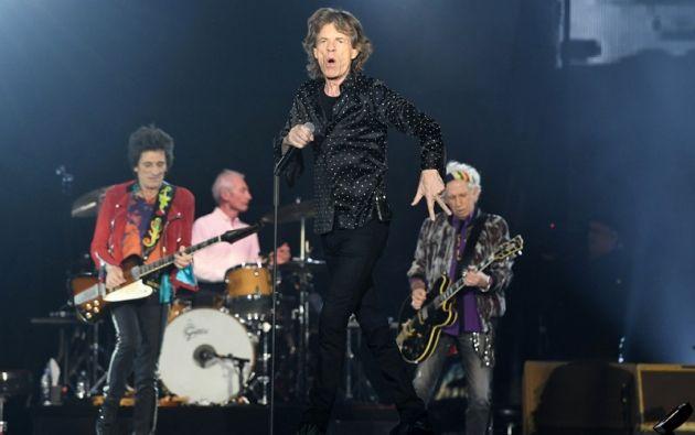 """Jagger lamentó en Twitter su indisposición y dijo a sus seguidores: """"Odio decepcionaros de esta manera"""". Foto: AFP"""