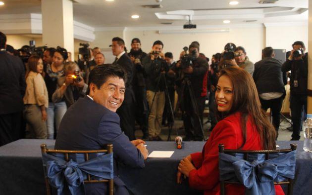 """Pabón recalcó que """"desea sacar del ostracismo a la ciudad y a Pichincha"""". Foto: Twitter @PaolaPabonC"""