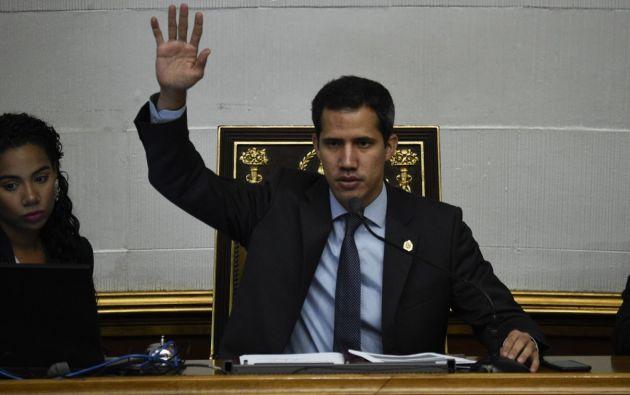 El TSJ abrió el pasado 29 de enero una investigación contra Guaidó por supuestamente usurpar las funciones de Maduro. Foto: AFP