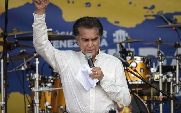 El cantante dijo que considera una potencial candidatura presidencial en Venezuela en momentos en que promociona una gira mundial. Foto: AFP.