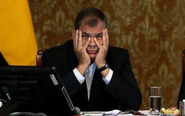 """Correa ha negado categóricamente su participación en dicha subasta: """"¿de dónde voy a sacar $240.000 en efectivo?"""". Foto: AFP."""