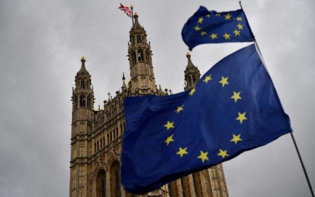 Reino Unido tenía que haber salido de la UE el 29 de marzo. Foto: AFP