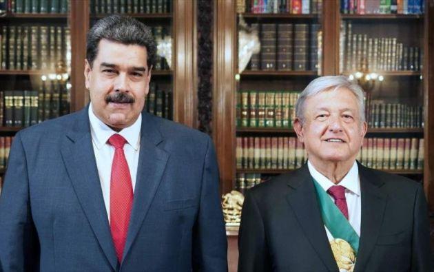 López Obrador invitó a Maduro a participar en un comida tras su asunción al poder, en lo que fue la primera visita del mandatario venezolano a México como presidente. Foto: Reuters.