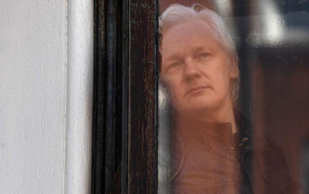 En octubre de 2018 Quito le impuso a Assange un protocolo de comportamiento que regula desde sus visitas hasta sus comunicaciones. Foto: AFP
