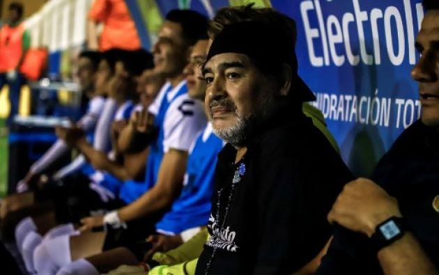 Es la tercera ocasión que el campeón del mundo en México 1986 es multado por sus declaraciones. Foto: AFP