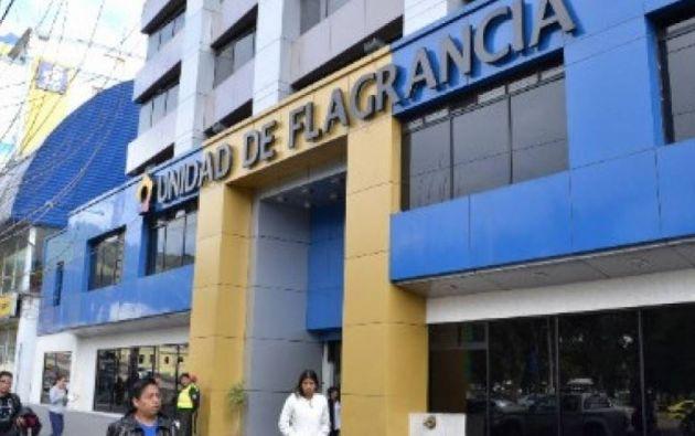 'El abuelo' ha permanecido en la Unidad de Flagrancias de Quito. Foto: archivo