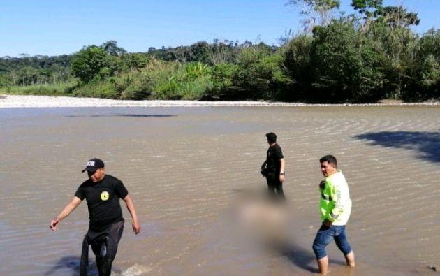 El martes 9 de abril fue encontrado el cuerpo del ciudadano español Manuel Tundidor Cabral en un río de la provincia de Napo. Foto: Twitter.