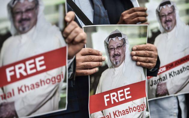 La fiscalía de Arabia Saudí confirmó en noviembre del 2018 que el periodista fue asesinado en el consulado saudí de Turquía, el 2 de octubre. Foto: AFP.