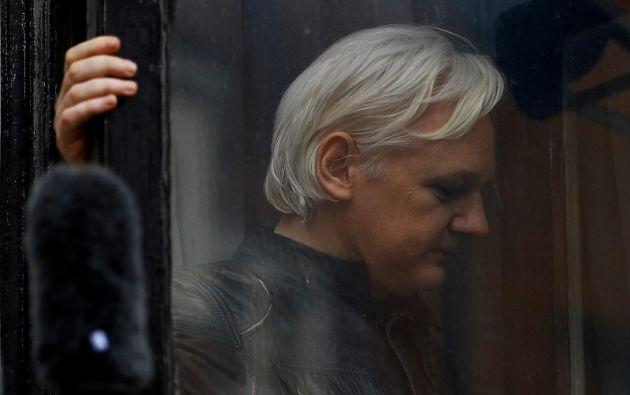 Assange teme ser extraditado a Estados Unidos, donde según él podría ser condenado a la pena de muerte. Foto: Reuters