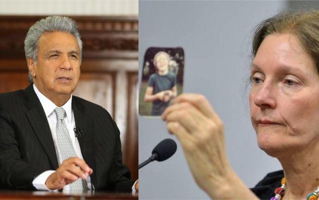 """""""Mantente fuerte Julian! ¡Vamos a pelear por ti!"""", enfatizó la madre. Fotos: Flickr presidencia / AFP"""
