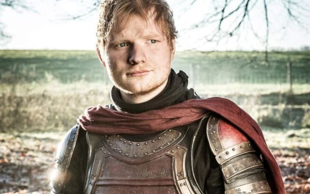 Sheeran apareció por primera vez en Westeros en el primer episodio de la séptima temporada.