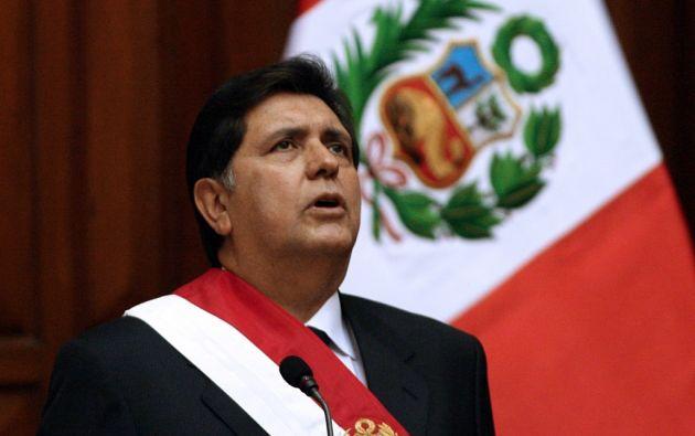 Alan García murió a los 69 años de edad tras haberse disparado en la cabeza. Foto: AFP