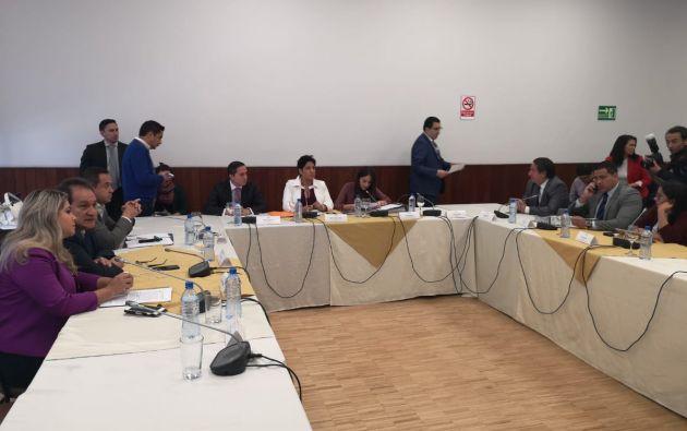 La Comisión de Fiscalización analiza el referido artículo periodístico. Foto: Flickr Asamblea
