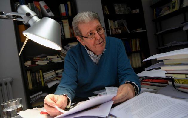 Jorge Herralde es el director fundador de la editorial Anagrama, creada en 1969 en Barcelona - España. Foto: AFP.