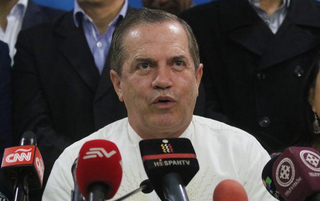 Ricardo Patiño fue ministro de Economía, de Relaciones Exteriores y de Defensa en el Gobierno del expresidente Correa.