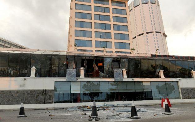 Las explosiones se produjeron en hoteles de lujo y en iglesias. Foto. AFP.
