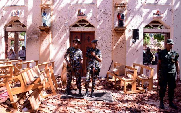 Al menos en dos ataques hay relatos de testigos que hablan de un kamikaze como autor. Foto: AFP.