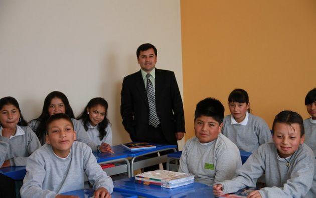 El ingreso a clases será escalonado. El 22 de abril ingresa Bachillerato y finalmente Educación Inicial el 29 de abril. Foto: Ministerio de Educación.
