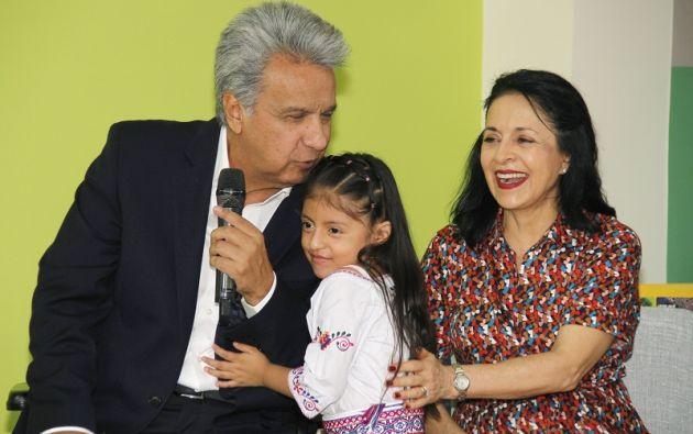 """""""Quisiéramos multiplicar por 5, por 10 veces el presupuesto para la educación, para la salud, pero no es posible"""", dijo Moreno. Foto: Flickr Presidencia"""