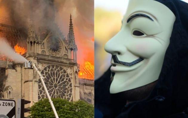 """El mensaje publicado en la página web de Anonymous, señala que estas generosas donaciones constituyen una """"caridad selectiva""""."""
