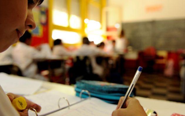 Las instituciones educativas con jornada vespertina en Ecuador no tendrán clases el próximo 1 de mayo.