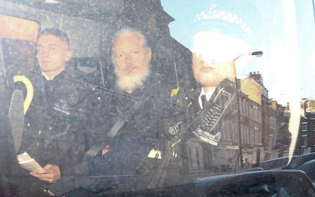 Assange denuncia sistema de espionaje creado en la embajada de Ecuador. Foto: Reuters