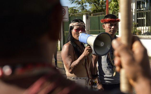 El viernes los indígenas waorani lograron su primer triunfo ante las petroleras. Foto: AFP