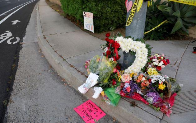 El tiroteo ocurrió en una sinagoga de la localidad estadounidense de Poway, a 30 kilómetros al norte de San Diego. Foto: Reuters.