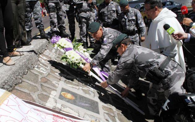 Jiménez falleció en la protesta policial del 30 de septiembre de 2010. Foto: archivo