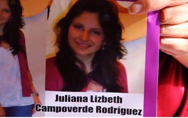 Campoverde desapareció el 7 de julio del 2012 en Quito.