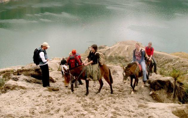 La Sierra fue la región más visitada, con una captación turística del 55,5 %.