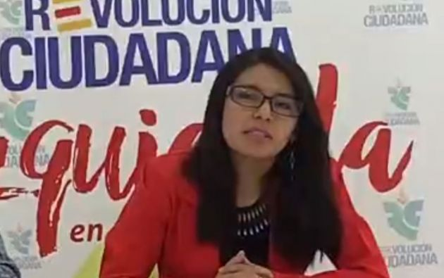 La ecuatoriana Kerly Luna figura como número dos de una lista candidata a las elecciones al Parlamento Europeo de la plataforma Izquierda Positiva-Revolución Ciudadana.