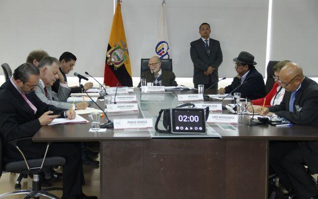 """""""El pueblo ecuatoriano dotó de competencias ordinarias y extraordinarias al Consejo de Participación Ciudadana y Control Social transitorio"""", dice el dictamen. Foto: Flickr CPCCS"""