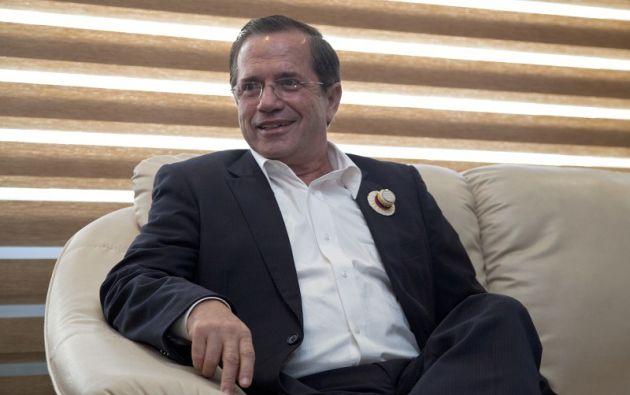 De 65 años, Patiño fue ministro de Economía, de Relaciones Exteriores y de Defensa del expresidente Rafael Correa.