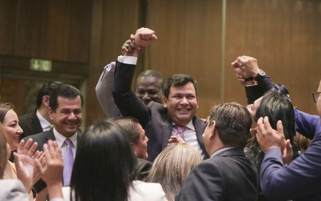 """Litardo se propuso """"recuperar la confianza de los ecuatorianos"""". Foto: Flickr Asamblea"""